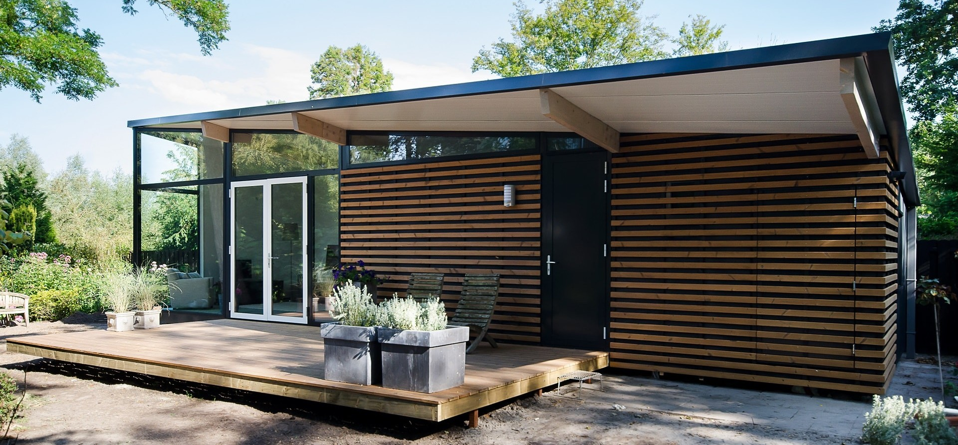 Prefab oplossingen voor woningen en recreatiewoningen for Vakantiehuis bouwen
