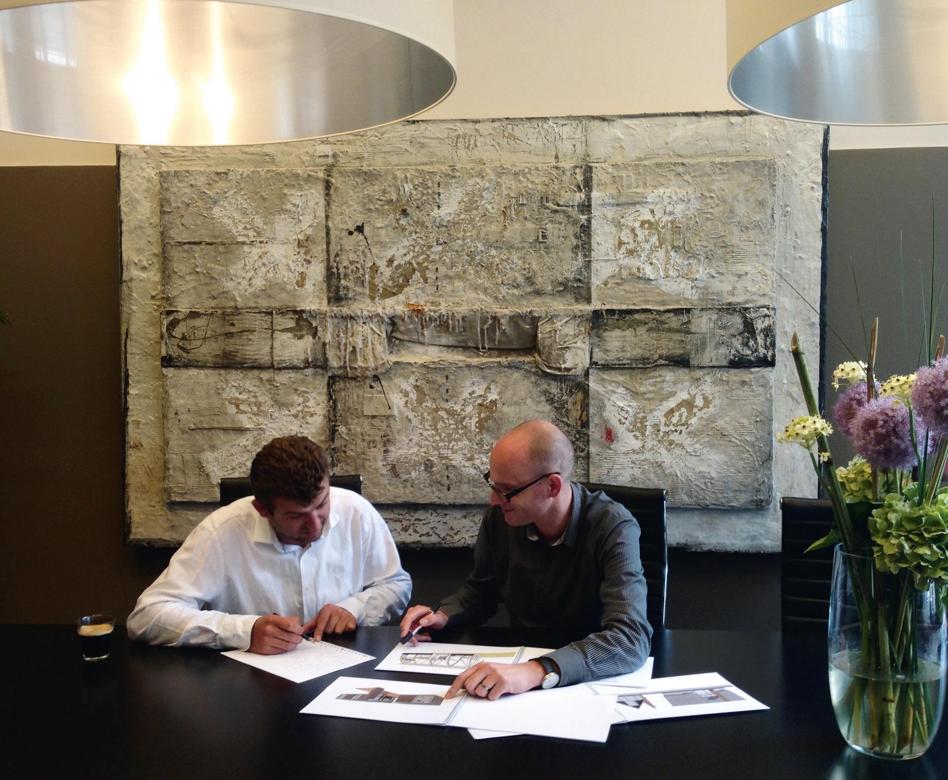 Sjors Werner en Jeroen Dingemans